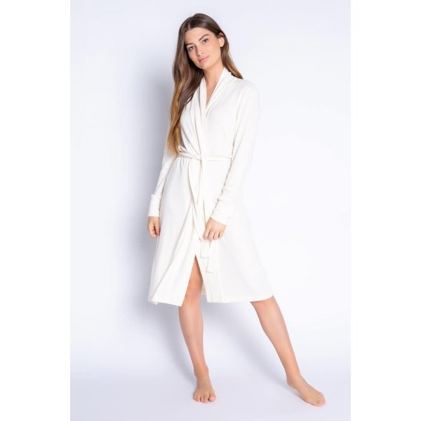 PJ SALVAGE STONE ROBE - TEXTURED BASIC -