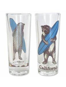 CA SURF BEAR SHOT GLASS