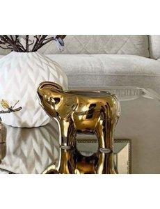 THOMPSON FERRIER GOLD ELEPHANT CANDLE - ORANGE BLOSSOM