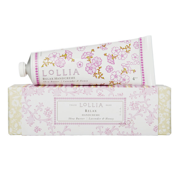 "LOLLIA ""RELAX"" SHEA BUTTER HAND CREAM"