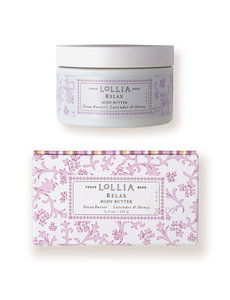 "LOLLIA ""RELAX"" WHIPPED BODY BUTTER"