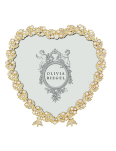 "OLIVIA RIEGEL OLIVIA RIEGEL CONTESSA HEART FRAME 3.5"""