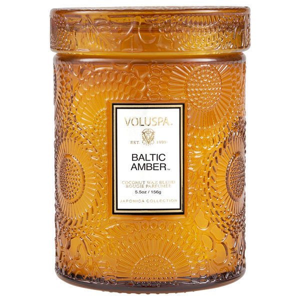VOLUSPA VOLUSPA JAPONICA SMALL TALL GLASS JAR CANDLE
