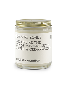 ANECDOTE CANDLE 7.8 OZ GLASS JAR