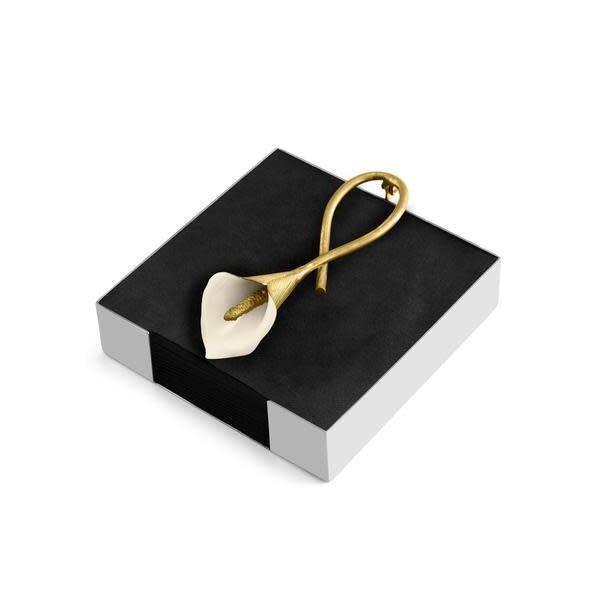 MICHAEL ARAM CALLA LILY COCKTAIL NAPKIN BOX