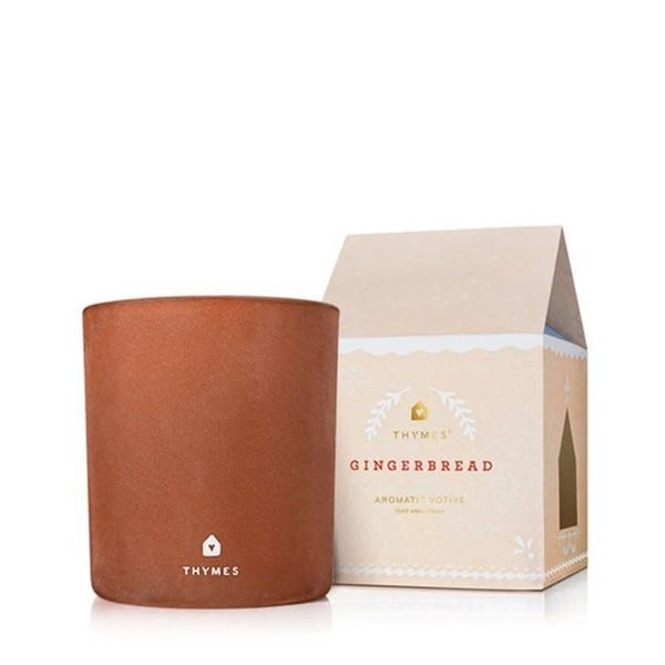 THYMES GINGERBREAD MEDIUM POURED CANDLE