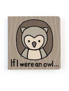 JELLYCAT IF I WERE AN OWL BOOK