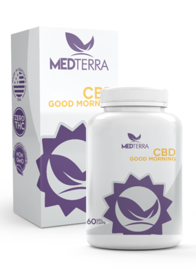 Medterra Medterra CBD Good Morning Gel Capsules