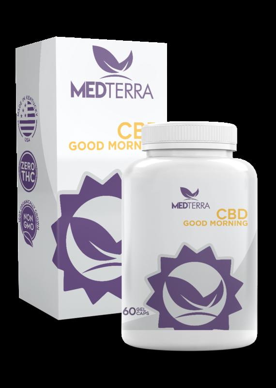 Medterra Medterra Good Morning Gel Caps