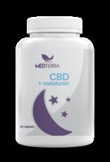 Medterra Medterra CBD 25 mg + Melatonin 10 mg Gel Capsules