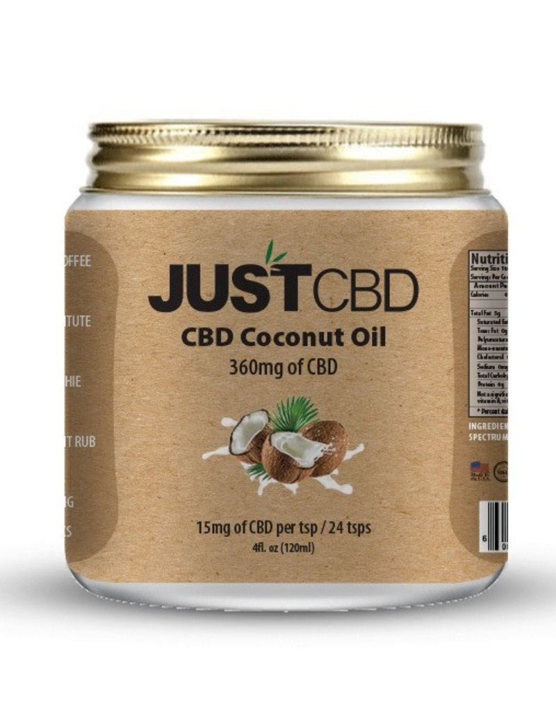 JustCBD JustCBD Coconut Oil (4oz)