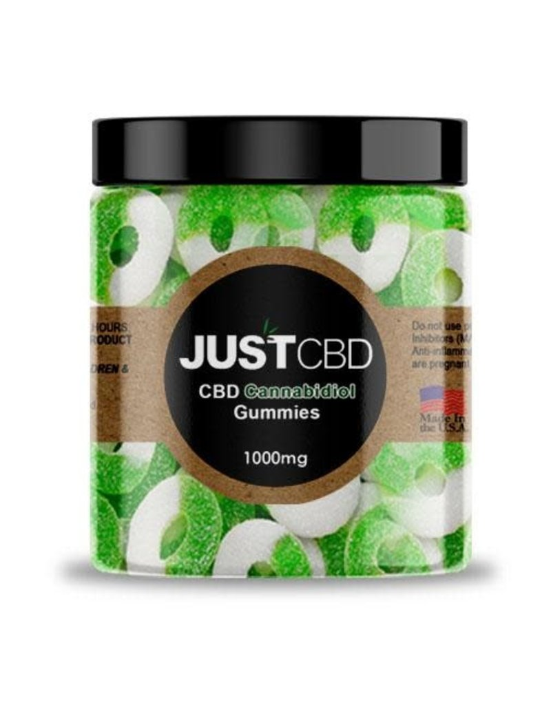 JustCBD JustCBD Gummy Apple Rings