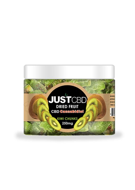 JustCBD JustCBD Dried Kiwi Chunks