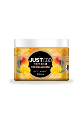 JustCBD JustCBD Dried Diced Mango