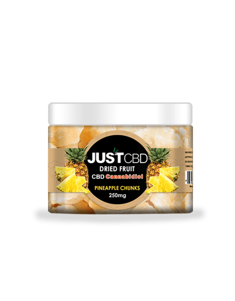 JustCBD JustCBD Dried Pineapple Chunks