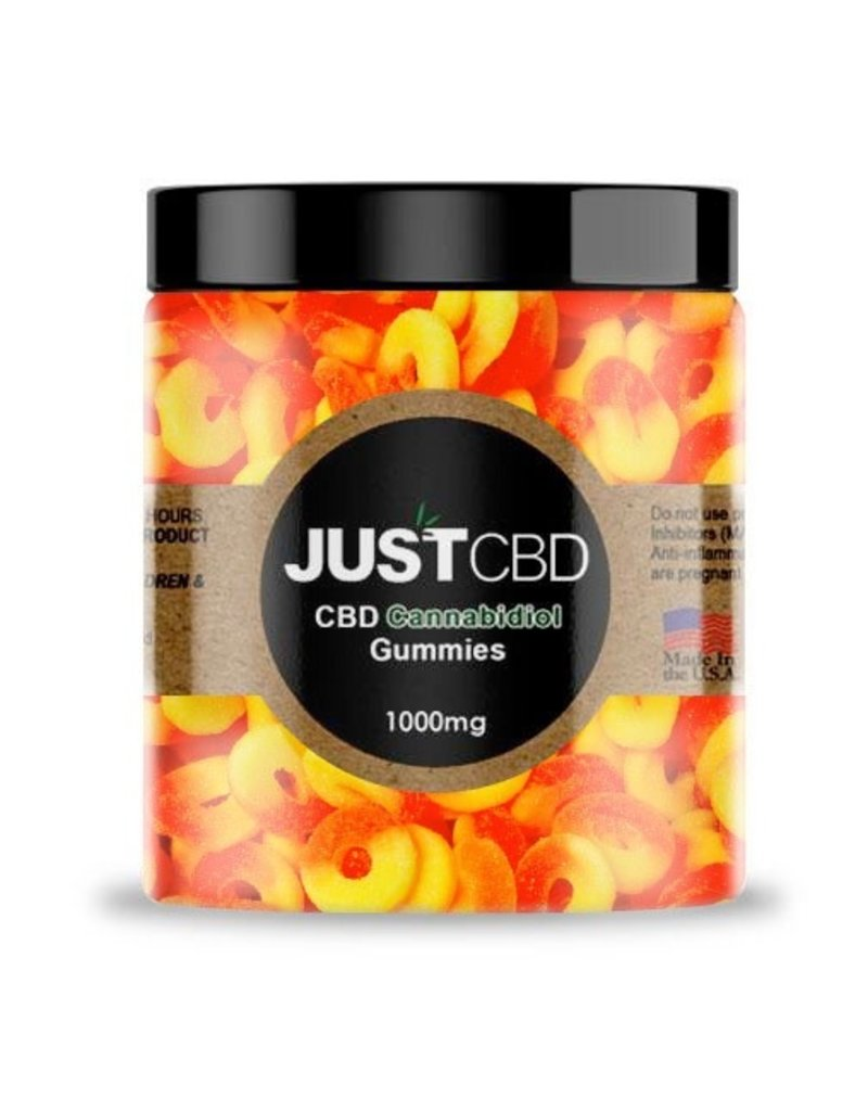 JustCBD JustCBD Gummy Peach Rings