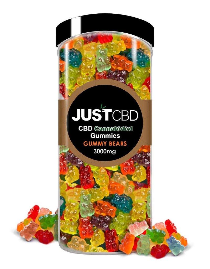 JustCBD JustCBD Clear Gummy Bears