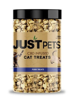 JustCBD JustCBD Cat Treats 100 mg