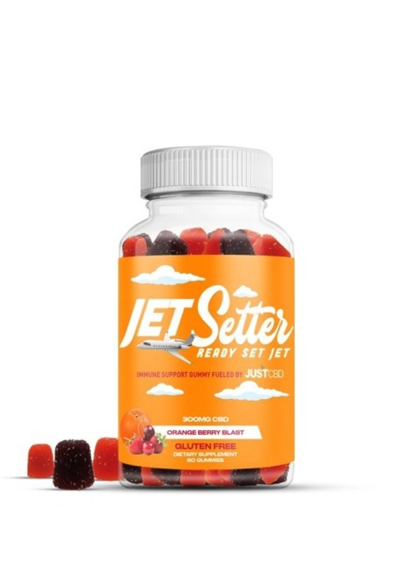 JustCBD JustCBD Jet Setter Orange Berry Blast 300 mg