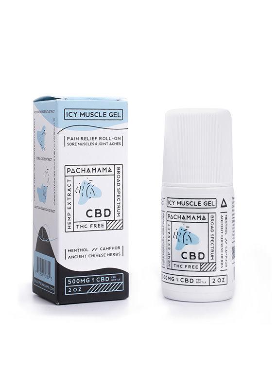 Pachamama Pachamama Icy Muscle CBD Gel 500 mg