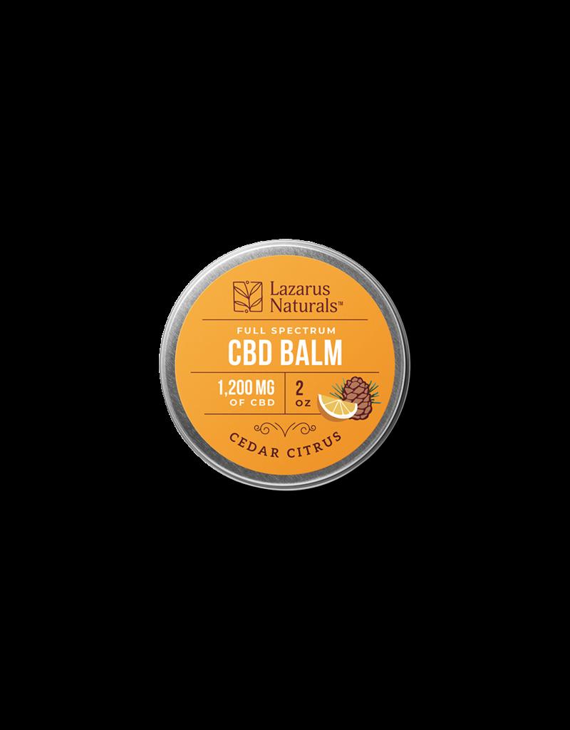 Lazarus Naturals Lazarus Naturals Cedar Citrus CBD Balm