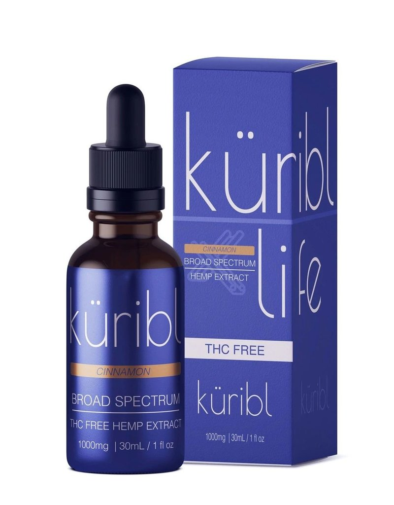 kuribl kuribl Broad Spectrum THC FREE Hemp Oil