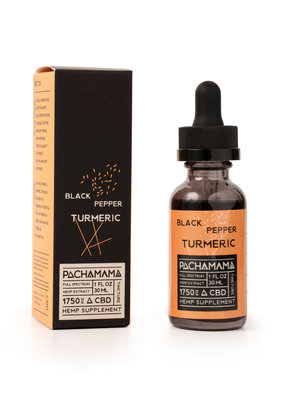 Pachamama Pachamama Black Pepper Tumeric CBD Tincture 30 ml
