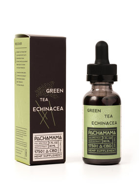 Pachamama Pachamama Green Tea Echinacea 30 ml CBD Tincture