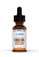 cbdMD cbdMD 5000 mg Berry 30 ml