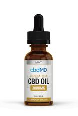 cbdMD cbdMD 3000 mg Mint 30 ml