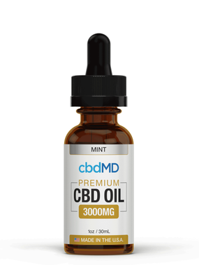 cbdMD cbdMD CBD Oil Tincture 3000 mg Mint