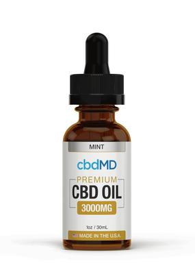 cbdMD cbdMD CBD Oil Tincture 3000 mg