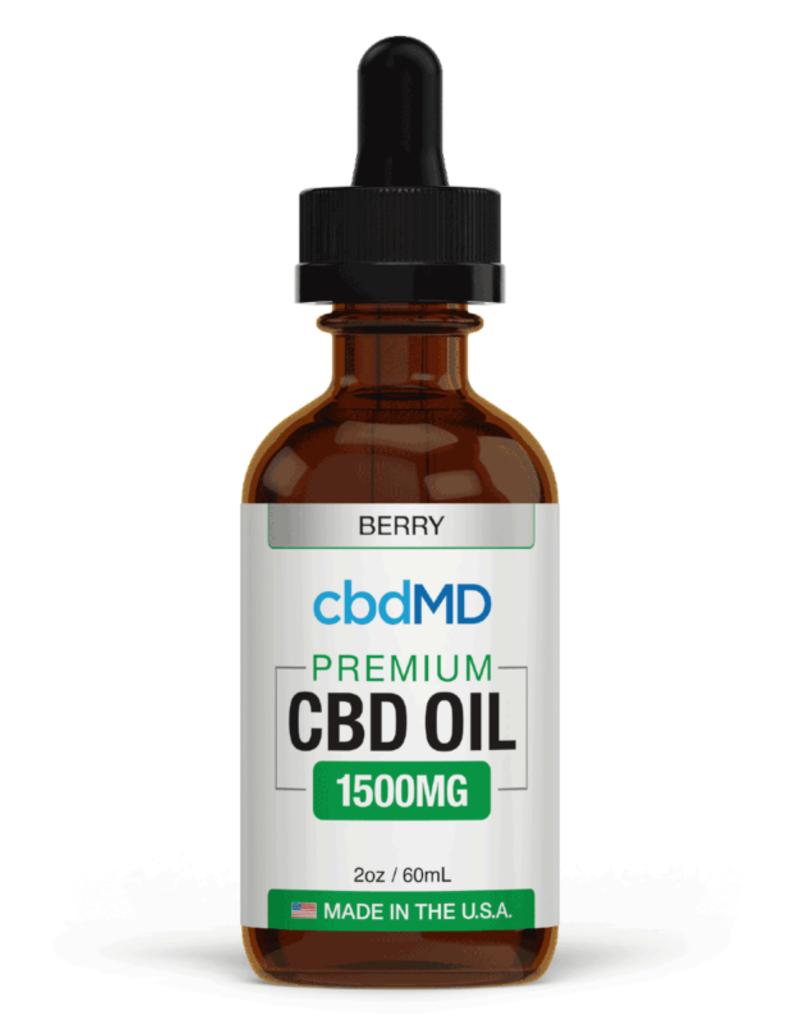 cbdMD cbdMD CBD Oil Tincture 1500 mg