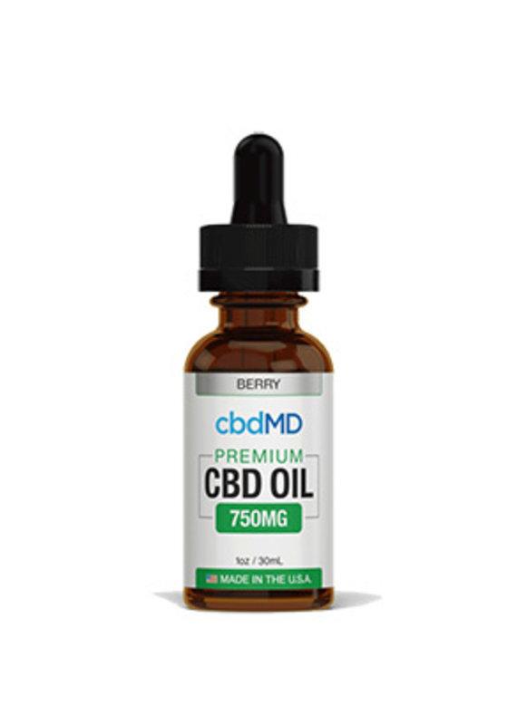 cbdMD cbdMD CBD Oil Tincture 750 mg