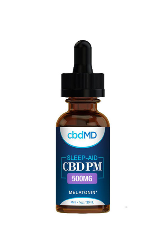 cbdMD CbdMD PM Oil Tincture Sleep 500 mg Mint