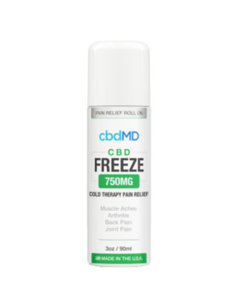 cbdMD cbdMD Freeze Pain Relief 750 mg