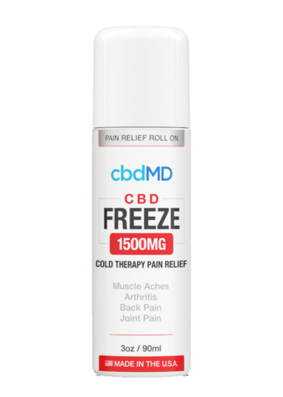 cbdMD CbdMD Freeze Pain Relief 1500 mg