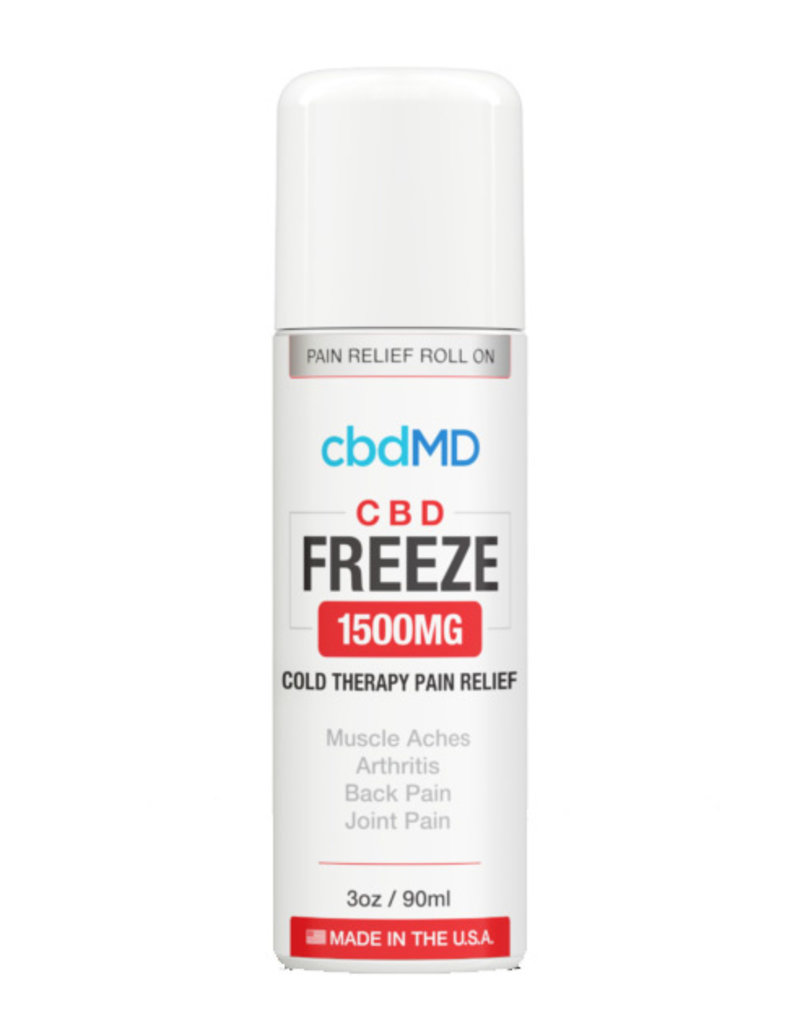 cbdMD CBDMD Freeze Pain Relief 1500 mg