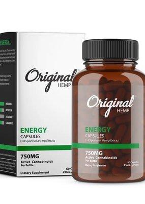 Original Hemp Original Energy Formula Capsules 750 mg