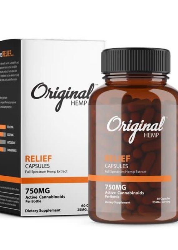 Original Hemp Original Hemp Relief Formula Capsules
