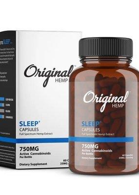 Original Hemp Original Sleep Formula Capsules 750 mg