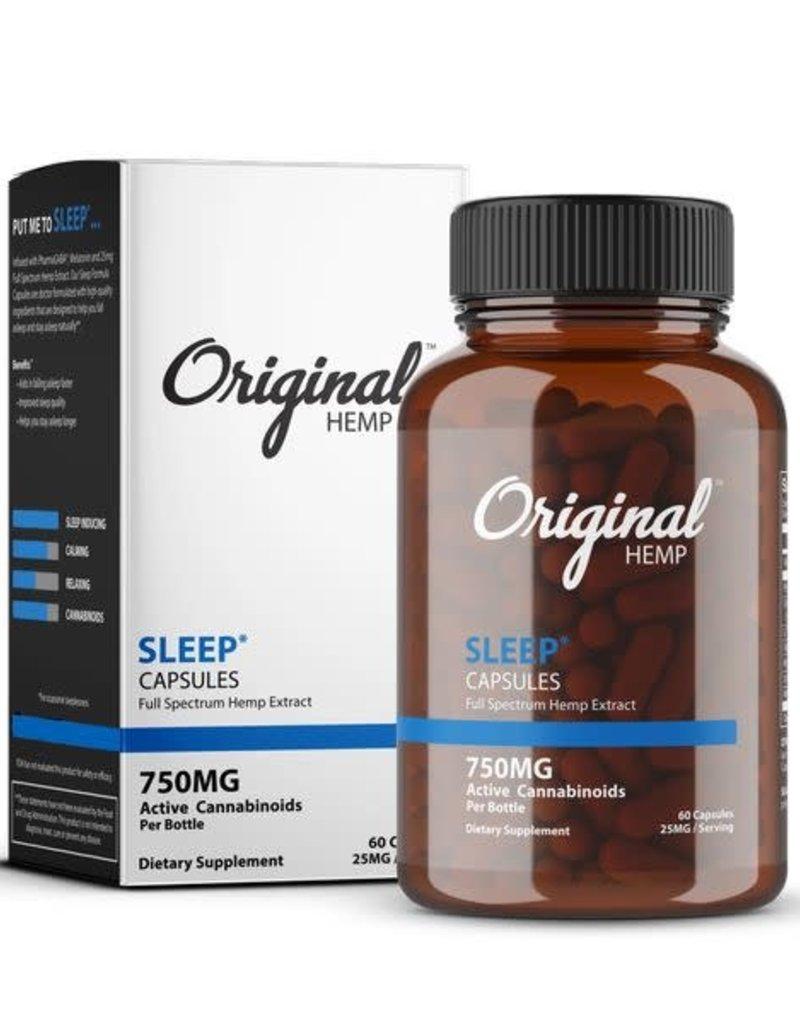 Original Hemp Original Hemp Sleep Formula Capsules 750 mg