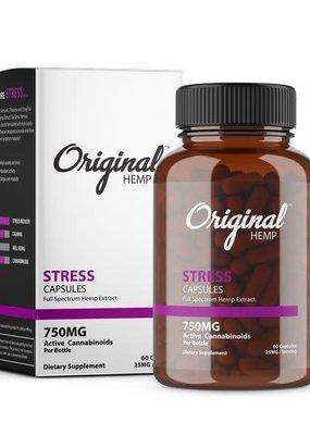 Original Hemp Original Stress Formula Capsules 750 mg