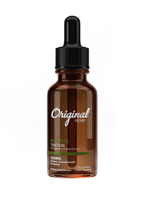 Original Hemp Original Hemp CBD Tincture Natural