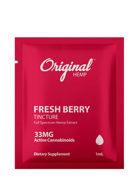 Original Hemp Orig Hemp DD 33 mg - Berry