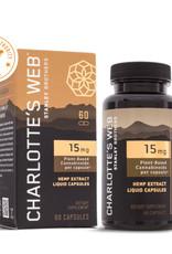 Charlottes Web Charlotte's Web CBD Oil Liquid Capsules 15 mg