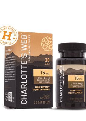Charlottes Web Charlotte's Web Liquid Caps 15 mg