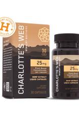 Charlottes Web Charlotte's Web CBD Oil Liquid Capsules 25 mg