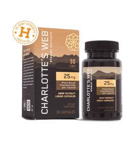 Charlottes Web Charlotte's Web Liquid Caps 25 mg