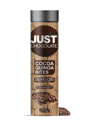 JustCBD Cocoa Quinoa Bites 250 mg CBD